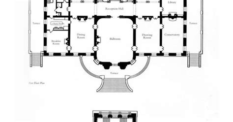 the elms newport floor plan the elms 1st and 2nd floors gilded age mansions
