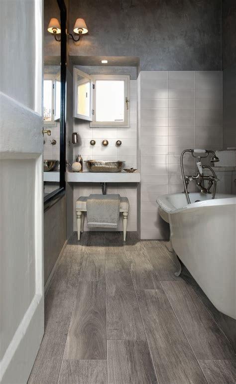 fabulous wood grain tile  elm stainless steel fixtures