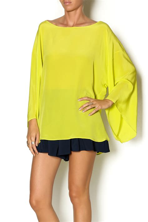 Hypergear Bag 5l Lime Green aum couture lime green silk top from new york by just b
