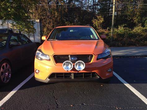 subaru road bumper subaru xv crosstrek bumper driving lights road ls