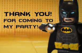 musings of an average lego batman thank you cards