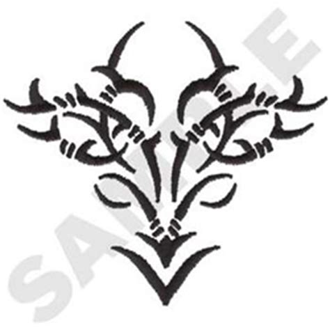 Tribal Barbed Wire Embroidery Designs Machine Embroidery Tribal Barb Wire Designs