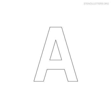 printable military letter stencils stencil letters a printable free a stencils stencil