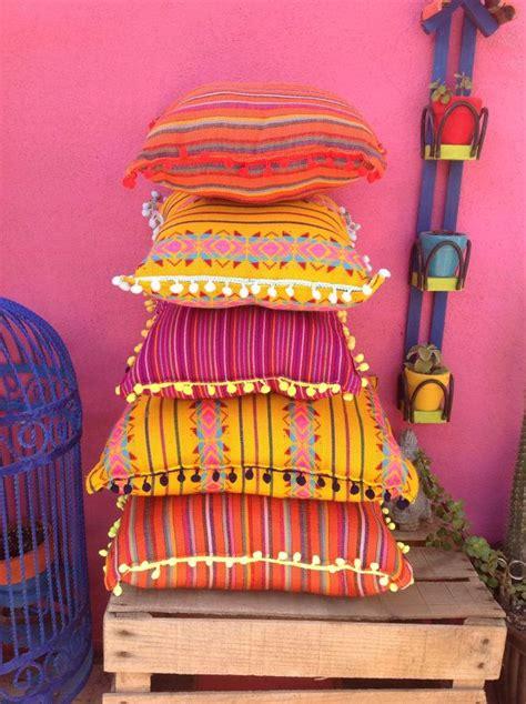 almohadas mexicanas handmade mexican throw pillows vibrant print pillows with