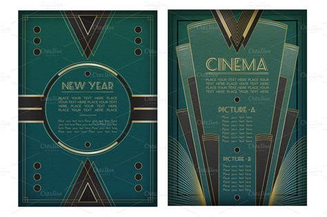 design elements of art deco 9 art deco graphic design images art deco designs free