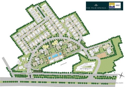 Of New Master Mba Course Plan by Emaar Mgf The Palm Springs Golf Course Road Gurgaon