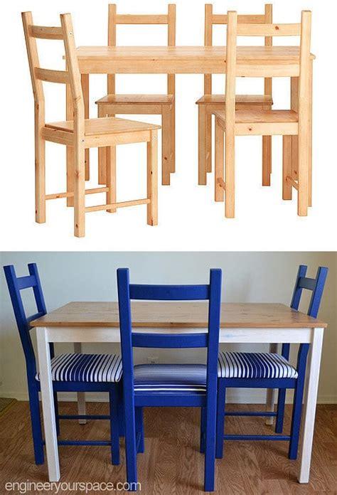 table et chaises ikea comment transformer une table et des chaises ikea
