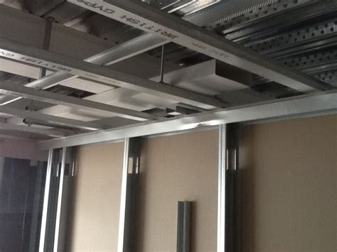 metal frame ceilings macs plasterboard systems