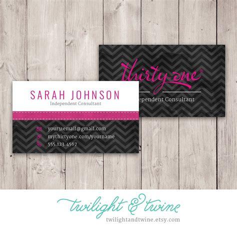 thirty one business card template thirty one chevron noir business card custom pdf