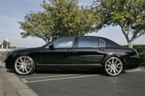 custom bentley flying spur find used 2006 bentley flying spur sedan custom wheels