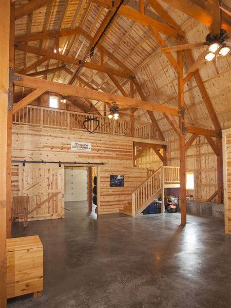 barn loft plans great plains party area in gambrel barn barn homes