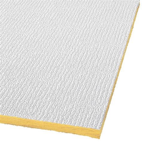 Drop Acoustic Panel Ceiling Tiles Shop Armstrong Ceilings Common 48 In X 24 In Actual 47