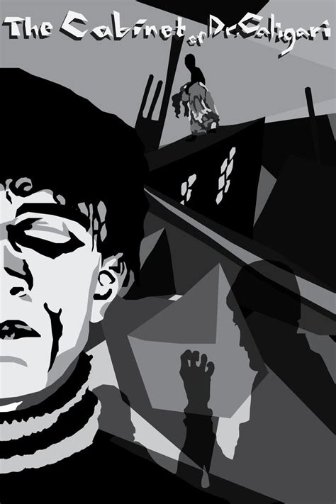 Cabinet Of Dr Caligari Poster by The Cabinet Of Dr Caligari Poster By Twosaxy On Deviantart