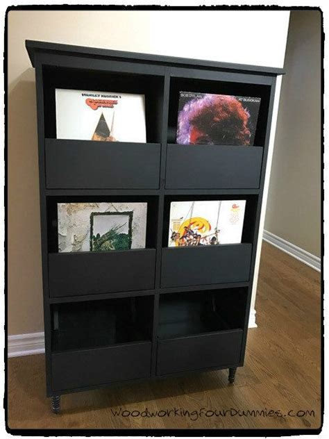 record cabinet detailed plans record cabinet vinyl