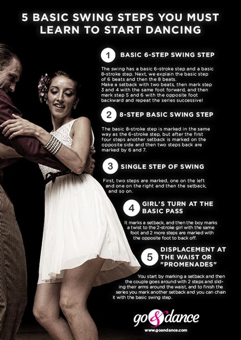 Swing Steps by 5 Basic Swing Steps You Must Learn To Start Go