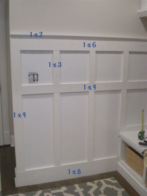 Wainscoting Proportions by Board And Batten Wall Diy