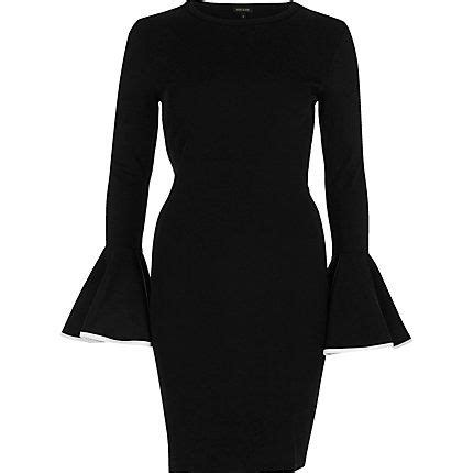 Umbrella Cullotes black bodycon umbrella sleeve dress 45 00 dresses 2017