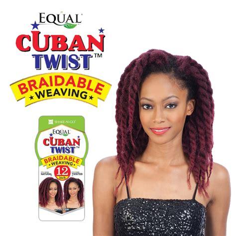 is equal cuban twist hair 100 kanekelon cuban twist weave 12 quot freetress equal havana style