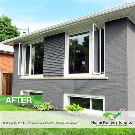 painting a brick house toronto brick painting contractor brick house painter toronto