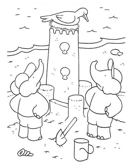Free Sand Castle Coloring Pages Sand Castle Coloring Pages