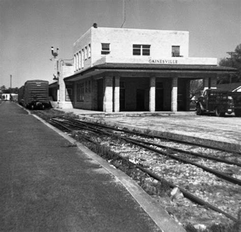 florida memory railroad depot gainesville florida