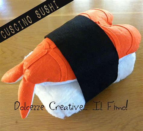 cuscini sushi cuscino sushi sashimi ebi nigiri riso gamberetto sushi