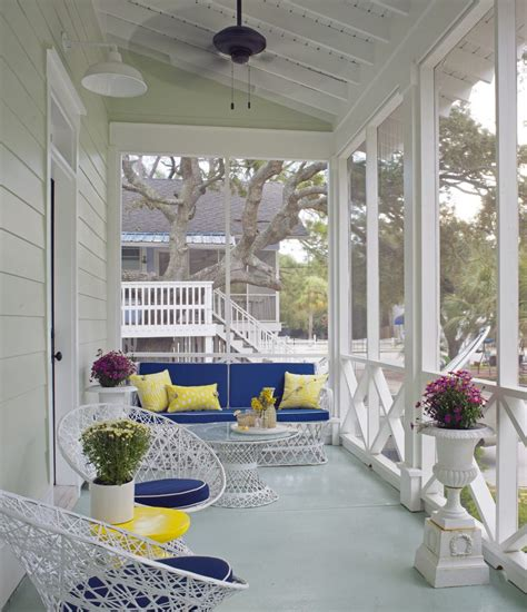 Small Outdoor Fireplace - mediterranean porch design ideas porch beach style with screened porch screened porch screened porch