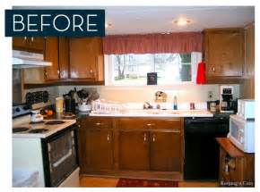 Kitchen Makeover On A Budget - unbelievable 1000 kitchen makeover curbly