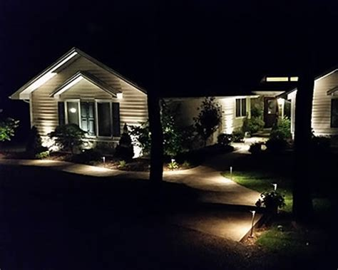 Led Landscape Lighting St Louis Chesterfield O Fallon Landscape Lighting St Louis Mo