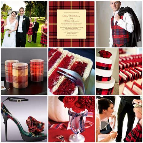 tartan plaid scottish wedding theme photographers of weddings
