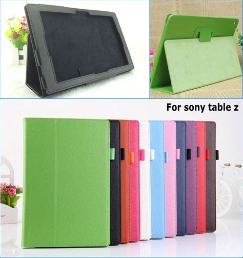 Casing Cover Sarung Pda Book Standing Xperia Z 2 Z2 free shipping new classic pu leather stand holder cover for sony xperia tablet z z1 10 1