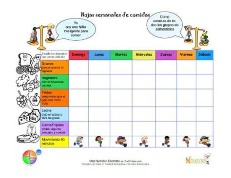 printable food diary for child imprimible escribe tu alimentos de cada grupo