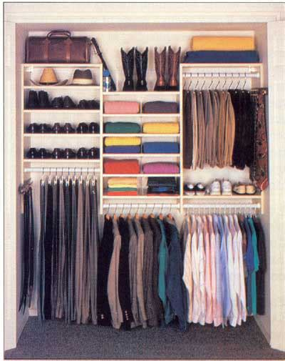 how to design a closet how to design a man s closet howstuffworks