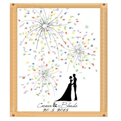 Hochzeit Fingerabdruck kaufen gro 223 handel fingerprint baum hochzeit