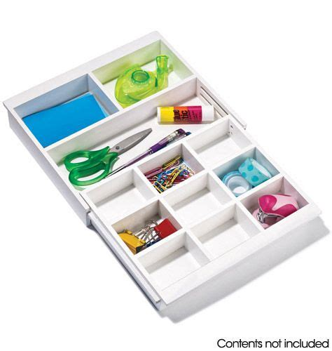 Expandable Drawer Organizers by Avon Expandable Drawer Organizer Junk Drawer No More
