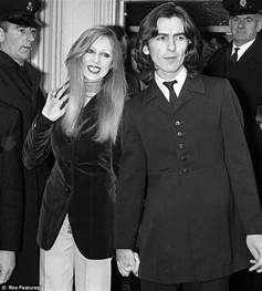 does swinging help a marriage george harrison s boy dhani shows off his wife who