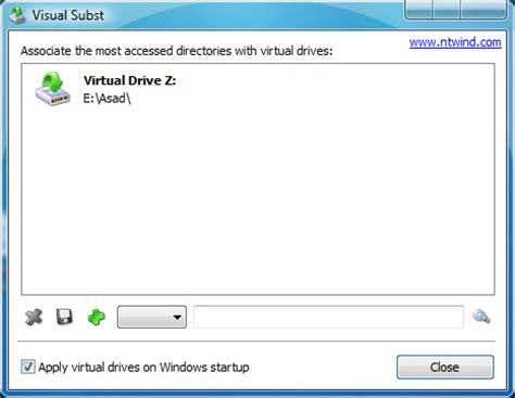 map a drive letter for frequently accessed folders in