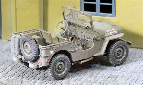 tamiya willys jeep tamiya 35219 1 35 us willys mb jeep build review