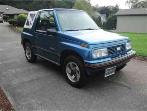 geo other 1991, very clean tracker convertible lsi very