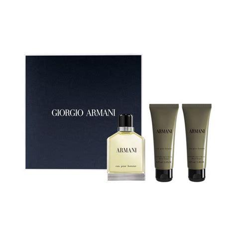 Giorgio Armani Parfum Orignal Eau Pour Homme 100 Ml coffret eau pour homme 2 produits eau de toilette