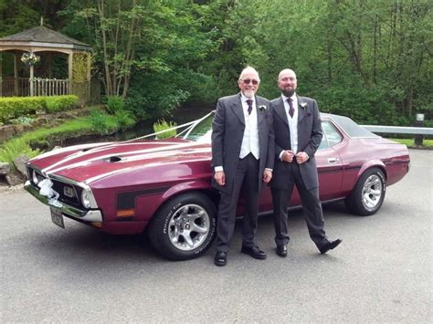mustang wedding 1972 mustang v8 grande ford mustang wedding ford