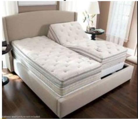 sleep number ile bed split king pillow top mattress bed xl set new ebay