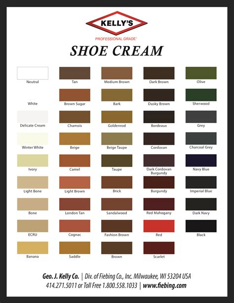 color shoes color charts dyes stains antiques shop for leather