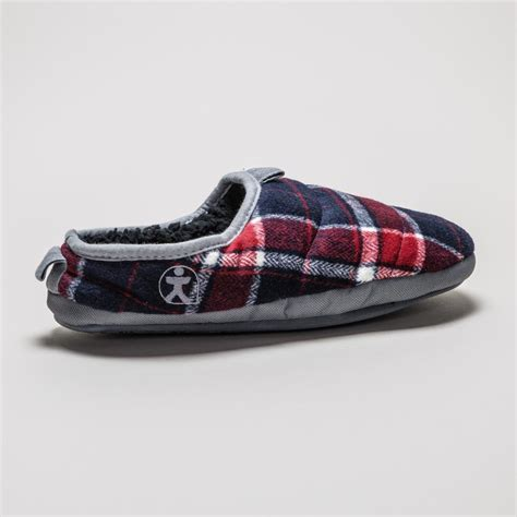 bedroom athletics slippers bedroom athletics bale slipper red navy mens slippers treds