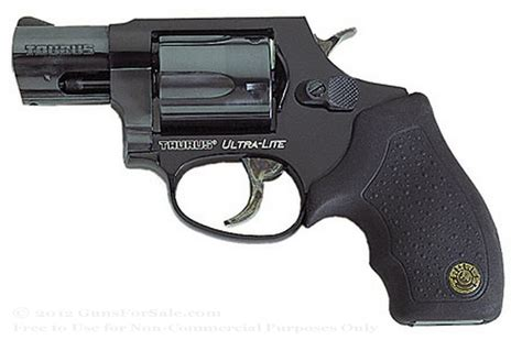 Revolver Taurus Ultra Light 380 taurus 85 ultra lite snubnose revolver in for sale 38