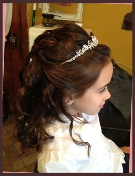 Communion Hairstyles by Hairstyles For Communion Hair