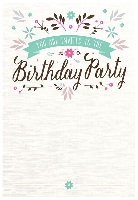 you are invited invitation party printable card american greetings