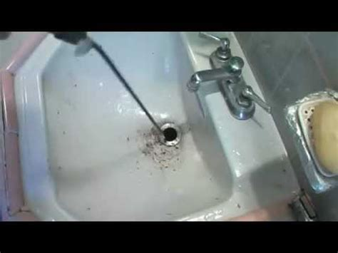What Is The Best Way To Unclog A Bathtub Drain by Clogged Sink Drain Unclogged The Best Way
