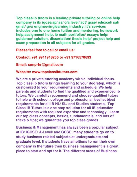 extended essay business and management sle sle of business and management extended essay