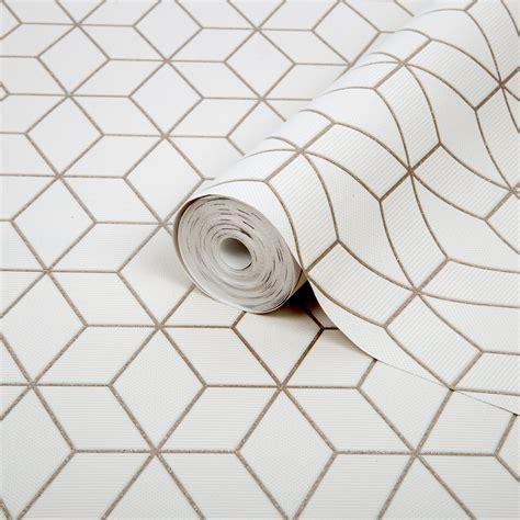 Superfresco Easy Prism Gold Geometric Glitter Wallpaper
